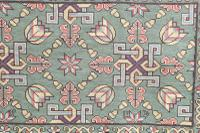 Scandinavian / Swedish 'Folk Art' Skåne Region, Woven Floral & Geometric Pattern Table Runner / Wall Hanging or Coverlet, 1936 (21 of 26)