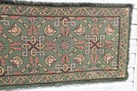 Scandinavian / Swedish 'Folk Art' Skåne Region, Woven Floral & Geometric Pattern Table Runner / Wall Hanging or Coverlet, 1936 (26 of 26)