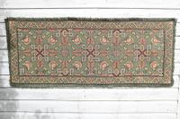 Scandinavian / Swedish 'Folk Art' Skåne Region, Woven Floral & Geometric Pattern Table Runner / Wall Hanging or Coverlet, 1936 (2 of 26)