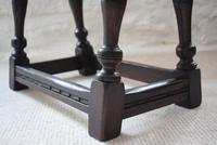 Antique 18th Century Oak Joint Stool (7 of 10)