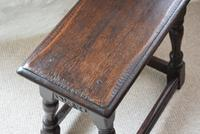 Antique 18th Century Oak Joint Stool (9 of 10)