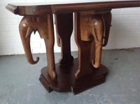 Quirky Elephant Hardwood Side Table Coffee Table
