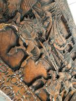 Large Eastern Carved Camphor Wood Chest (4 of 9)