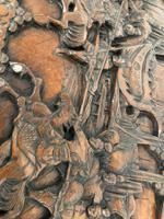 Large Eastern Carved Camphor Wood Chest (9 of 9)