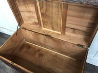 Large Eastern Carved Camphor Wood Chest (8 of 9)
