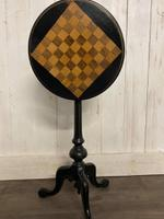Aesthetic Movement Tilt Top Chess Board Top Table (6 of 9)