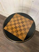 Aesthetic Movement Tilt Top Chess Board Top Table (2 of 9)
