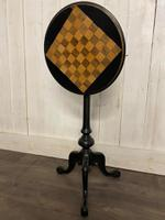 Aesthetic Movement Tilt Top Chess Board Top Table (7 of 9)