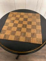 Aesthetic Movement Tilt Top Chess Board Top Table (3 of 9)