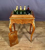 French Kingwood Marquetry Inlaid Jardinière / Wine Cooler (10 of 10)
