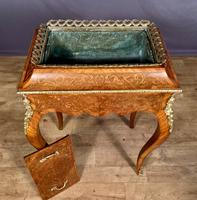 French Kingwood Marquetry Inlaid Jardinière / Wine Cooler (8 of 10)