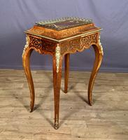 French Kingwood Marquetry Inlaid Jardinière / Wine Cooler (5 of 10)