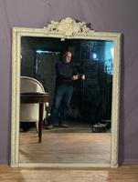 Superb Large French Chateau Painted Mirror (6 of 14)