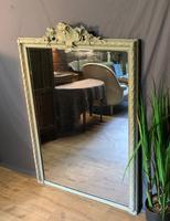 Superb Large French Chateau Painted Mirror (14 of 14)