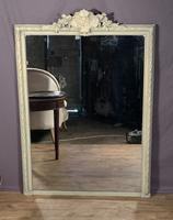 Superb Large French Chateau Painted Mirror (3 of 14)