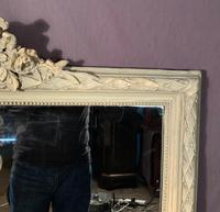Superb Large French Chateau Painted Mirror (8 of 14)