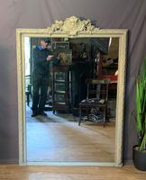 Superb Large French Chateau Painted Mirror (11 of 14)