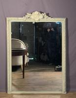 Superb Large French Chateau Painted Mirror (4 of 14)