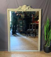 Superb Large French Chateau Painted Mirror (12 of 14)