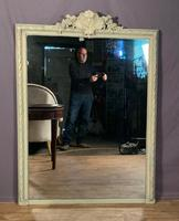 Superb Large French Chateau Painted Mirror (5 of 14)