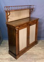 Pretty Small Proportioned Rosewood William 1V Chiffonier (7 of 7)