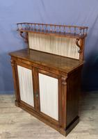 Pretty Small Proportioned Rosewood William 1V Chiffonier (5 of 7)