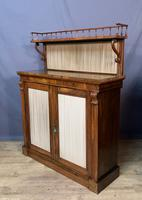 Pretty Small Proportioned Rosewood William 1V Chiffonier (4 of 7)