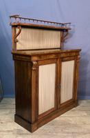Pretty Small Proportioned Rosewood William 1V Chiffonier (6 of 7)