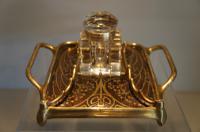 Art Nouveau Schreibtischgarnituren Ink Well