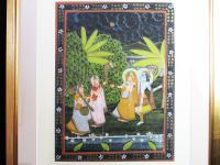 Pichwai Painting of Krishna & RAdha