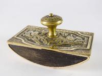 Edwardian Brass Ink Blotter