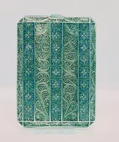 Unique Silver, Gold & Enamel Filigree Card Case