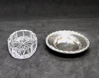 Marco Style Silver & Crystal Glass Parmesan & Salt Bowl (7 of 12)