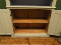 Painted Book Cabinet Dresser, Housekeepers Cabinet, Farrow & Ball Drop Cloth (6 of 16)