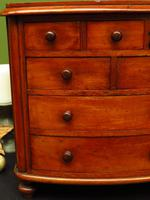 Victorian Apprentice Piece Mahogany Chest of Drawers, Superb Quality (4 of 15)