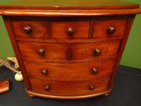 Victorian Apprentice Piece Mahogany Chest of Drawers, Superb Quality (5 of 15)