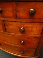 Victorian Apprentice Piece Mahogany Chest of Drawers, Superb Quality (8 of 15)