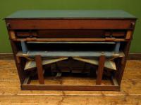 Antique Painted Blue Harmonium Pump Organ, the 'Barmonium' Bar or Console Table (11 of 18)