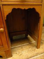 Small Antique Early 20th Century Pine Desk, Small Cottage Desk (7 of 17)