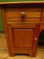 Small Antique Early 20th Century Pine Desk, Small Cottage Desk (4 of 17)