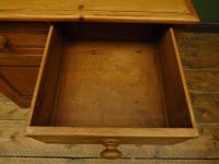 Small Antique Early 20th Century Pine Desk, Small Cottage Desk (8 of 17)