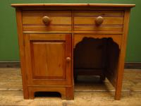 Small Antique Early 20th Century Pine Desk, Small Cottage Desk (14 of 17)