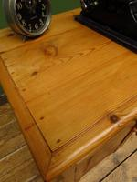 Small Antique Early 20th Century Pine Desk, Small Cottage Desk (17 of 17)