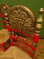 Pair of Vintage Painted Bohemian Chairs (14 of 14)