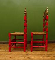 Pair of Vintage Painted Bohemian Chairs (11 of 14)