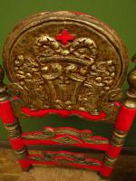 Pair of Vintage Painted Bohemian Chairs (4 of 14)