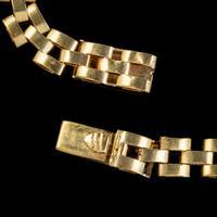 Vintage Cleopatra Fringe Necklace 9ct Gold Dated 1966 (6 of 6)