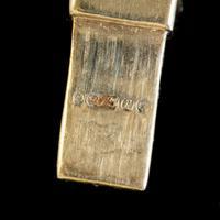 Vintage Cleopatra Fringe Necklace 9ct Gold Dated 1966 (2 of 6)