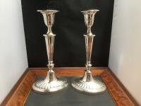 Excellent Pair of Silver Candlesticks 1893