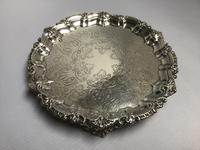 Chester Solid Silver Waiter Salver (2 of 5)